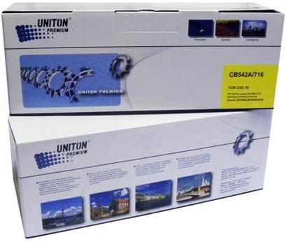 Картридж совместимый UNITON Premium CB542A (125A) желтый для HP