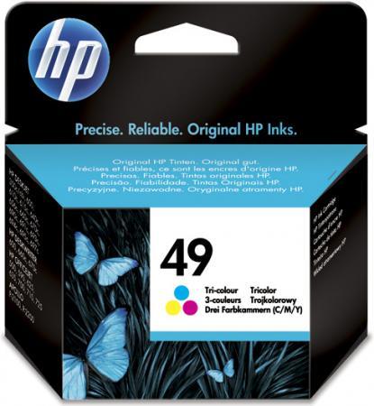 Картридж HP 51649AE трехцветный оригинальный