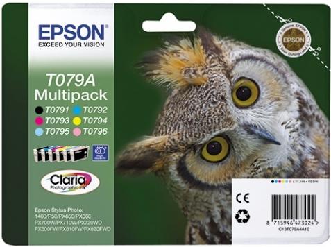 Набор картриджей EPSON C13T079A4A10 6 цветов оригинальный