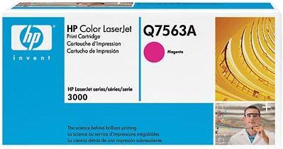 Картридж HP Q7563А пурпурный оригинальный