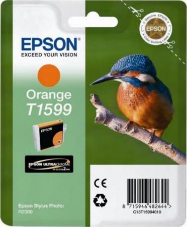 Картридж EPSON T15994010 оранжевый оригинальный