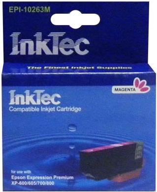 Картридж совместимый InkTec T2633 красный для Epson