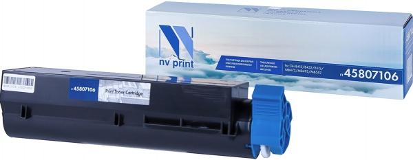Картридж совместимый NVP 45807106 для Oki