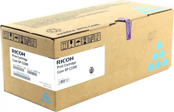 Принт-картридж SPC220E для Ricoh LE голубой
