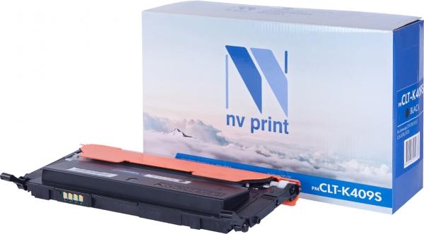 Картридж совместимый NV Print CLT-K409S черный для Samsung