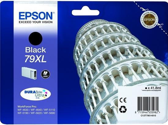 Картридж Epson 79XL (C13T79014010) черный оригинальный