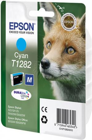 Картридж EPSON T12824010 голубой совместимый Lomond