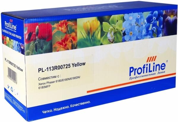 Картридж совместимый ProfiLine 113R00725 желтый для Xerox