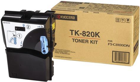 Тонер-картридж Kyocera TK-825K черный оригинальный