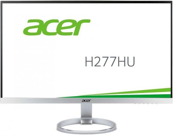 "Монитор 27"" Acer H277HUsmipuz Silver White"