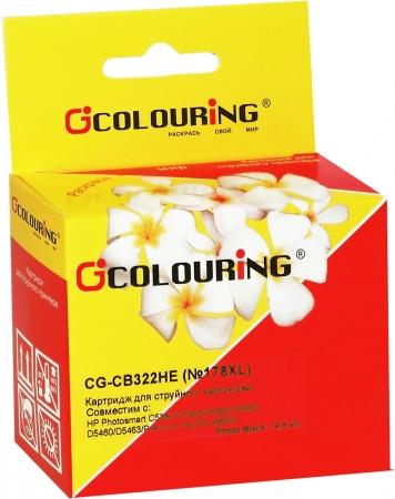Картридж совместимый Colouring CB322HE №178XL для HP черный