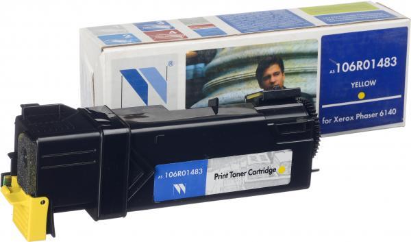 Картридж Xerox 106R01483 желтый совместимый NV Print