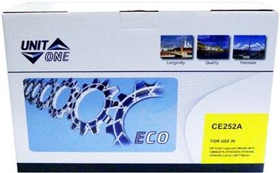 Картридж совместимый UNITON Eco CE252A желтый для HP