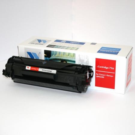 Тонер-картридж совместимый NV Print 726 для Canon