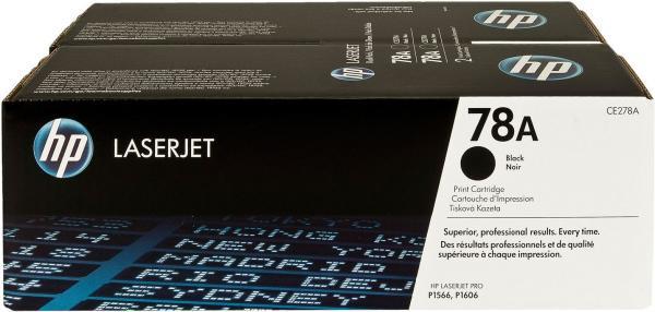Картридж HP CE278AD черный двойная упаковка оригинальный