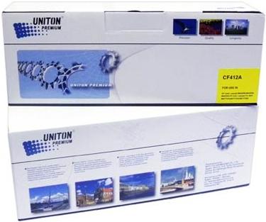 Картридж совместимый для HP CF412A желтый UNITON Premium