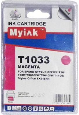 Картридж совместимый MyInk T1033 красный для Epson