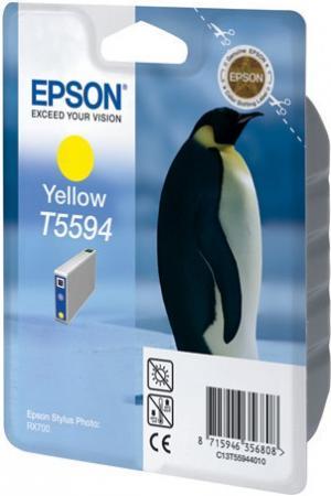 Картридж EPSON Т559440 желтый оригинальный