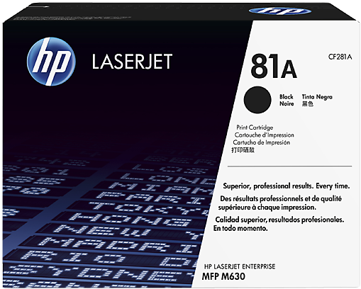 Kартридж HP 81A оригинальный