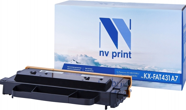 Картридж совместимый NVP KX-FAT431A7 для Panasonic