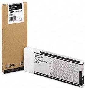 Картридж EPSON T6061 фото черный оригинальный