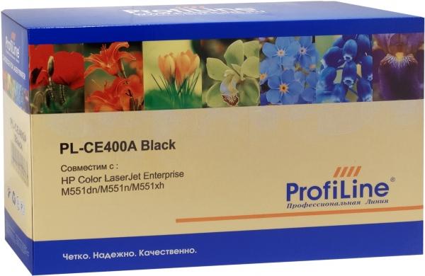 Картридж совместимый ProfiLine CE400A Black для HP