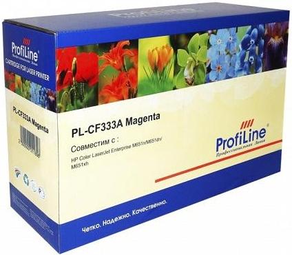 Картридж совместимый ProfiLine CF333A пурпурный для HP