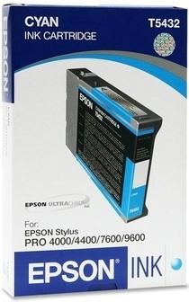 Картридж EPSON C13T543200 голубой оригинальный