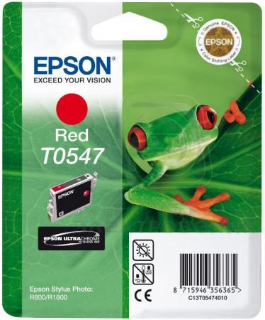 Картридж Epson C13T05474010 красный оригинальный