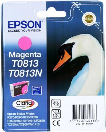 Картридж EPSON T08134A пурпурный оригинальный