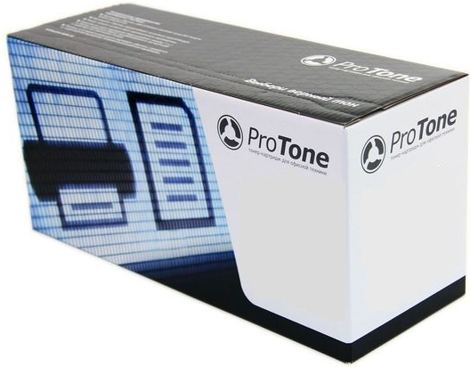 Картридж совместимый ProTone TK-540C голубой для Kyocera