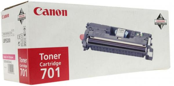 Картридж CANON 701M пурпурный оригинальный