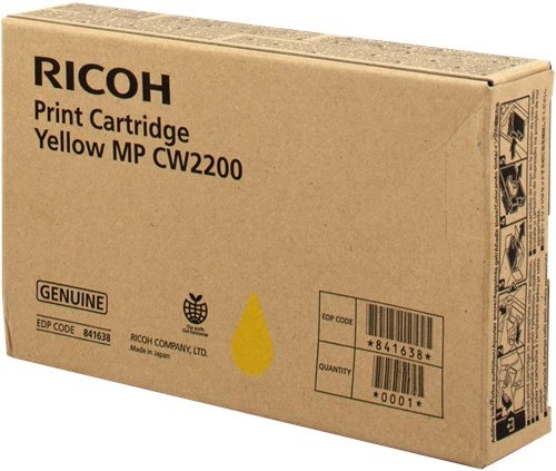 Картридж MP CW2200 для Ricoh желтый