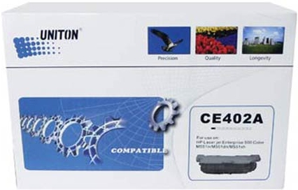 Картридж совместимый UNITON Premium CE402A желтый для HP