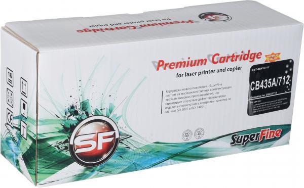 Картридж совместимый SuperFine CB435A для HP