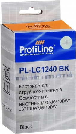 Картридж совместимый ProfiLine LC1240BK для Brother