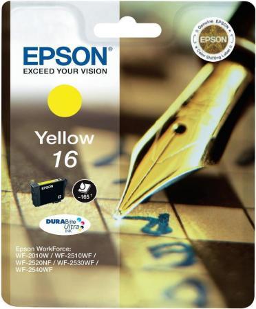 Картридж EPSON C13T16244010 желтый оригинальный