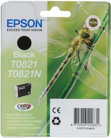 Картридж EPSON T08214A черный оригинальный