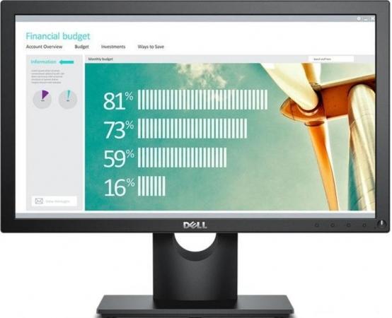 "Монитор 18.5"" Dell E1916He Black"