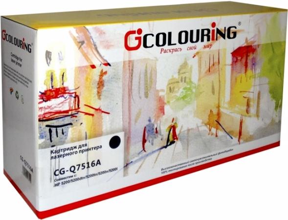Картридж совместимый Colouring Q7516A/509 для HP и Canon