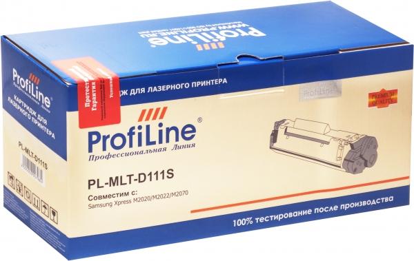 Картридж совместимый ProfiLine MLT-D111S для Samsung