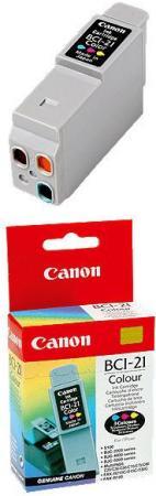 Картридж Canon Ink BCI-21C цветной оригинальный
