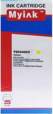 Картридж совместимый MyInk T6944 желтый для Epson
