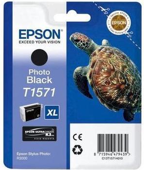 Картридж Epson Stylus C13T15714010 фото-черный оригинальный
