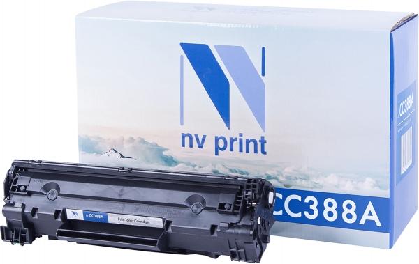 Картридж совместимый NVP CC388A черный для HP