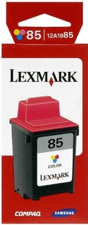 Картридж LEXMARK №85 трехцветный оригинальный