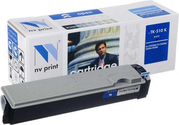 Картридж Kyocera TK-510K черный совместимый NV Print