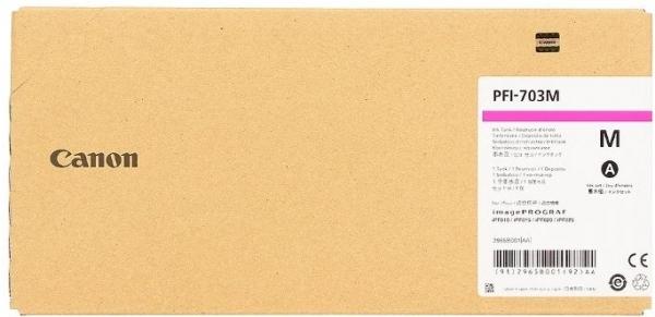Картридж CANON PFI-703M пурпурный оригинальный