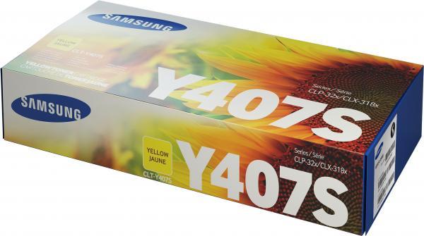 Картридж Samsung CLT-Y407S желтый совместимый UNITON Eco