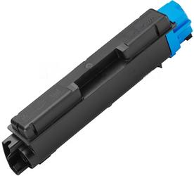 Картридж совместимый SuperFine TK580C голубой для Kyocera